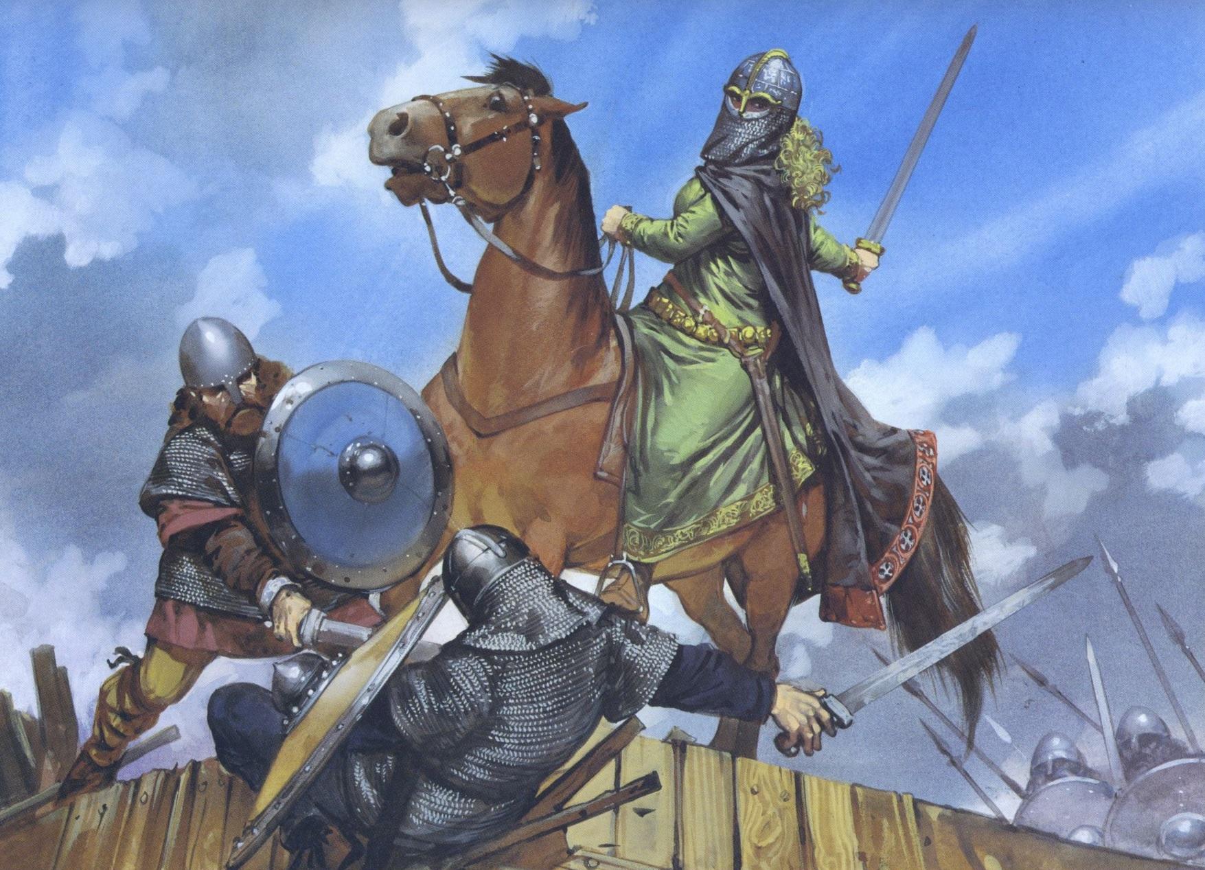 Этельфледа Мерсийская — ВикиВоины — энциклопедия о военной истории
