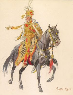 General of Division Junot, Colonel General of the Hussars. 1809.jpg