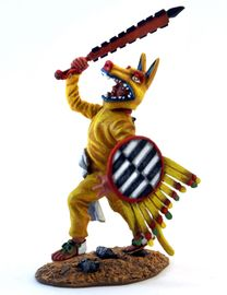 Aztec Coyote Attacking with Macuahuitl.jpg