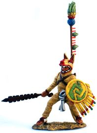 Aztec Coyote with Macuahuitl and Banner.jpg