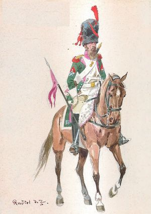 18th Dragoon Regiment, Sapper, 1812.jpg