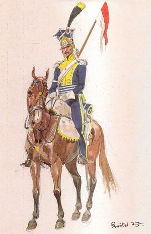 7th Lancer Regiment, Lancer, 1811-12.jpg