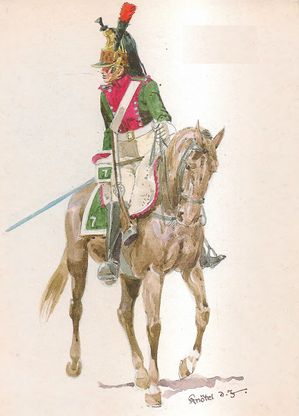 7th Dragoon Regiment, Dragoon, 1812.jpg