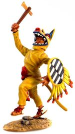 Aztec Coyote Attacking with Axe.jpg