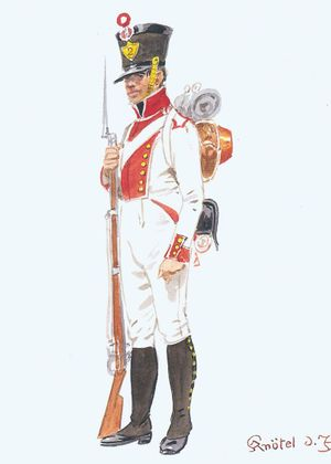 2nd Line Infantry Regiment, Fusilier Private, 1812.jpg