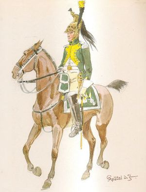20th Dragoon Regiment, Captain, Full Dress, 1810.jpg